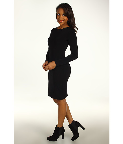 Karen Kane - South Beach Travel Sheath Dress (Black) - Apparel
