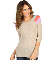 Autumn Cashmere - Striped Shoulder Raglan