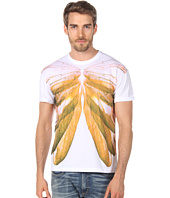 McQ - Wing Ribcage Drop Shoulder Tee
