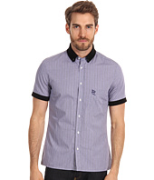 McQ - Check Short Sleeve Polo