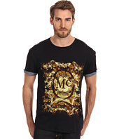 McQ - Fly Poster Drop Shoulder Tee