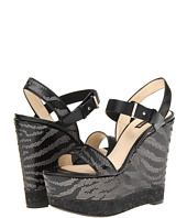Roberto Cavalli - Perforated Zebra Wedge
