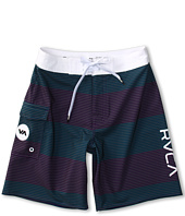 RVCA Kids - Civil Stripe Boardshort (Big Kids)
