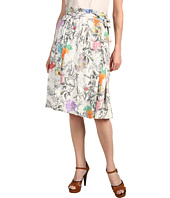 Paul Smith - Floral Skirt with Tie Waist