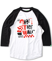 Vans Kids - Off the Wall Raglan Tee (Big Kids)