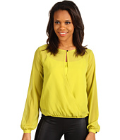 Kenneth Cole New York - L/S Draped Top w/ Cami