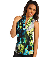 Kenneth Cole New York - Printed Drape Halter