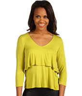 Kenneth Cole New York - 3/4 Sleeve Tiered Top