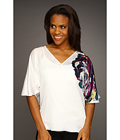 Kenneth Cole New York - Peony Print Dolman 3/4 Sleeve Top