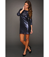 Michael Stars - Sequin Modal 3/4 Sleeve Shift Dress