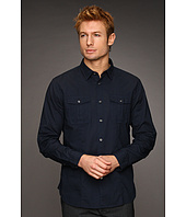 John Varvatos Star U.S.A. - Dobby Slim Fit Military Shirt