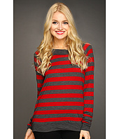 Michael Stars - Heather Stripe Sweatshirt