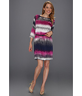 Kenneth Cole New York - Fusion Striped Shift Dress