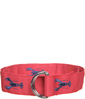 Vineyard Vines - Embroidered Lobster D-Ring Belt