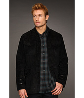 John Varvatos Star U.S.A. - Suede Officer Jacket