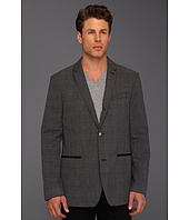 John Varvatos - 2 To 4 Button Convertible Plaid Jacket