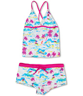 Hurley Kids - Flamo Tankini & Boyshort (Big Kids)