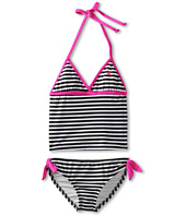 Hurley Kids - Surfside Stripe Tankini & Retro w/ Ties (Little Kids)