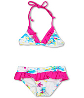 Hurley Kids - Flamo Triangle & Ruffle Retro (Little Kids)
