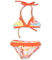 Hurley Kids - Sea Fire Triangle & Ruffle Retro (Little Kids)