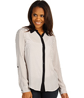 Splendid - Geo-Dot Print Button Down Collared Shirting