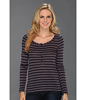 Splendid - Black Venice Stripe Henley