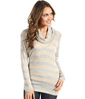 Splendid - Platinum Rugby Stripe Cowl Neck