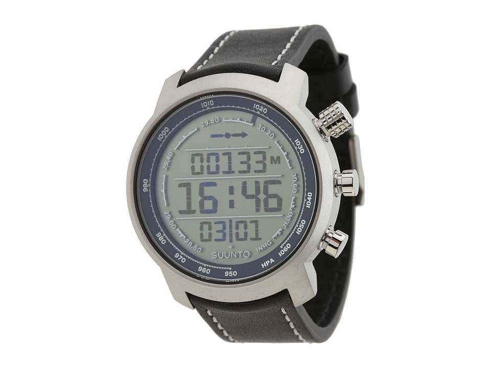 Suunto - Elementum Terra (Positive Face w/ Black Leather Band) Watches