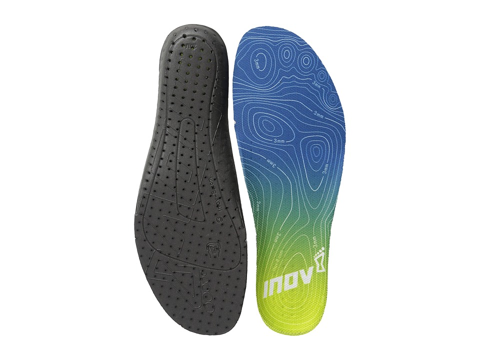 inov 8 3MM Footbed Blue/Lime Insoles Accessories Shoes
