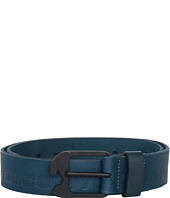 Cheap Volcom Leverage Belt Tidal Blue