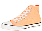 Converse - Chuck Taylor All Star Washed Neon Hi (Neon Orange) - Footwear