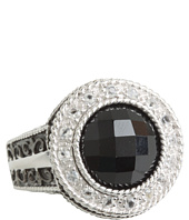 DeLatori - Black Onyx and Crystal Ring