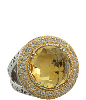 DeLatori - Citrine and Crystal Ring