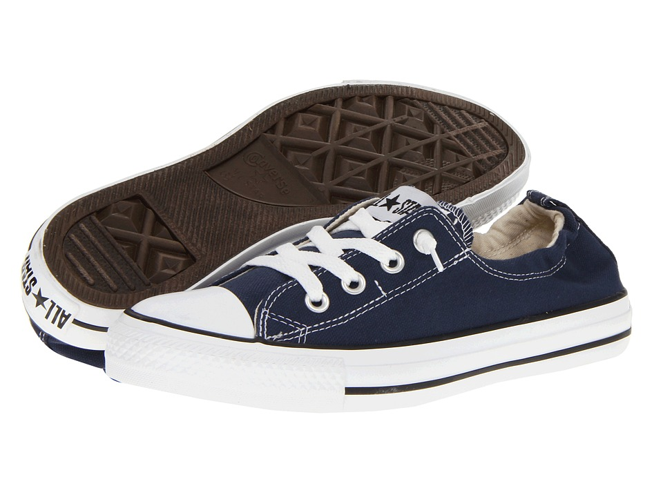 Converse Chuck Taylor All Star Shoreline Slip On Ox Athletic Navy Womens Slip on Shoes