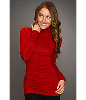 Karen Kane - Winter Shirred Sleeve Turtleneck