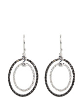 DeLatori - Black Spinel and Crystal Earrings