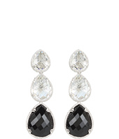 DeLatori - Black Onyx and Crystal Earrings