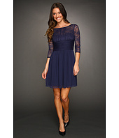 Max and Cleo - Jasmine Lace Sleeved Dress
