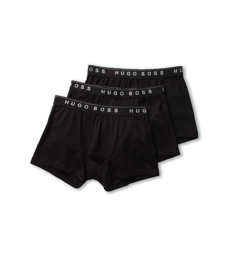 BOSS Hugo Boss Boxer 3 Pack 50236732 Black Mens Underwear