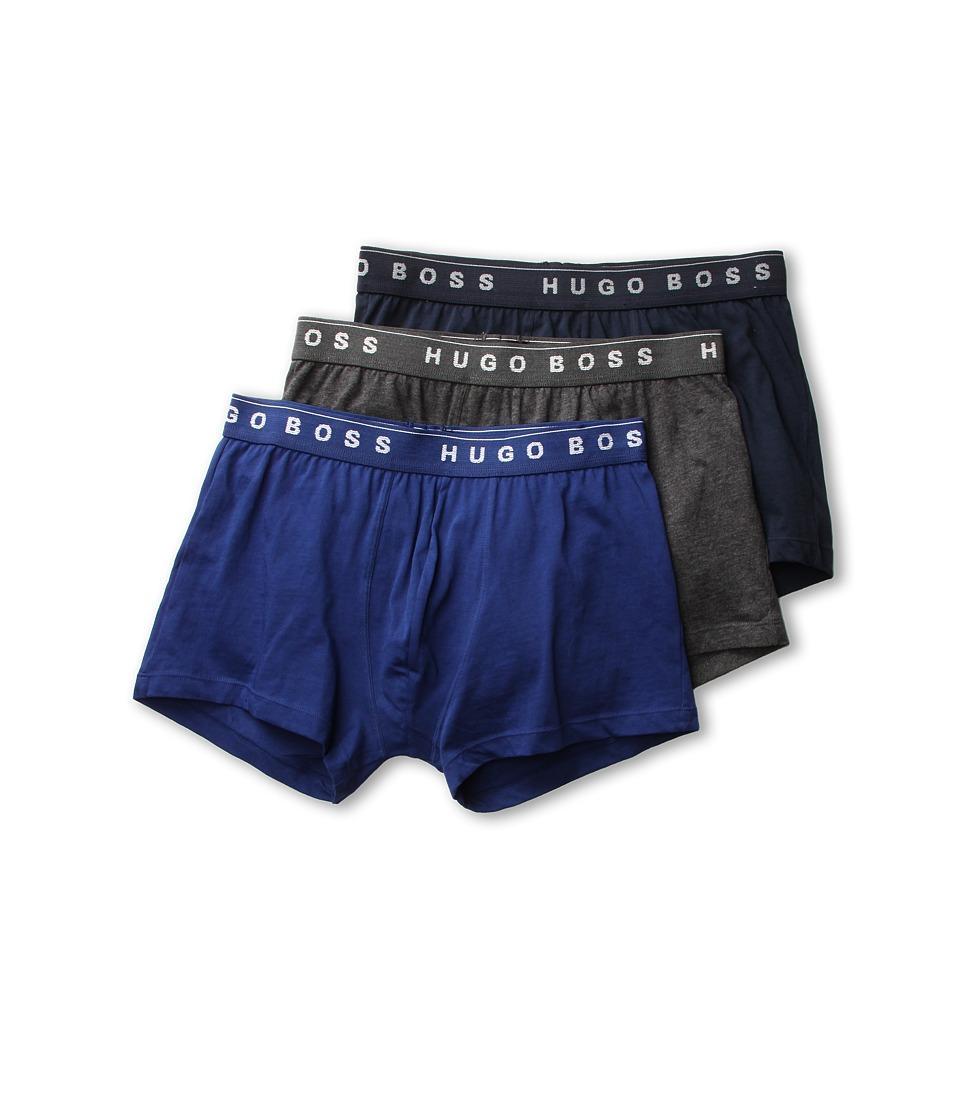 BOSS Hugo Boss Boxer 3 Pack 50236732 Blue/Navy/Grey Mens Underwear