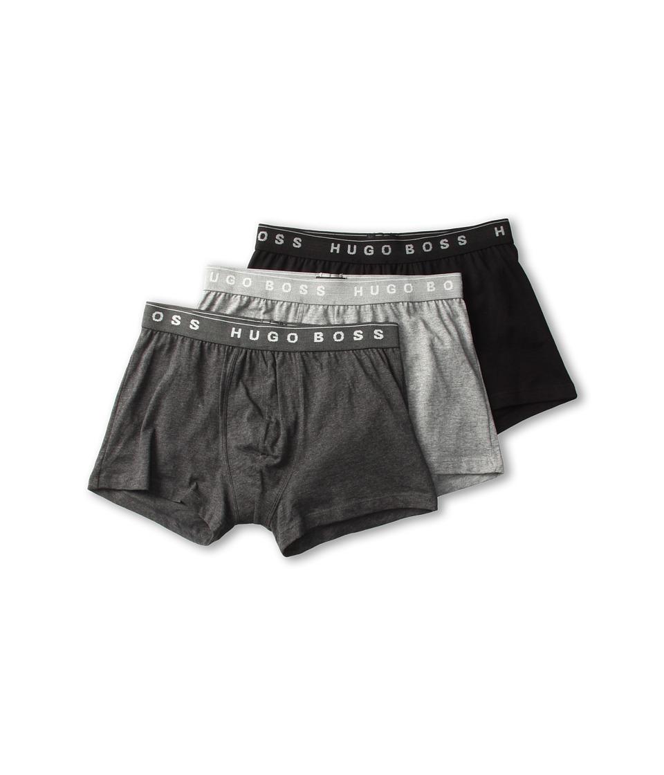 BOSS Hugo Boss Boxer 3 Pack 50236732 Grey/Charcoal/Black Mens Underwear