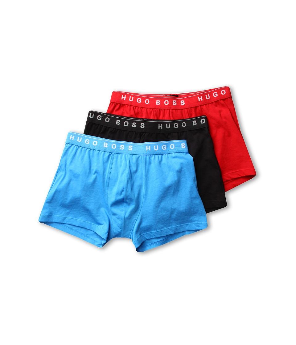 BOSS Hugo Boss Boxer 3 Pack 50236732 Blue/Red/Black Mens Underwear