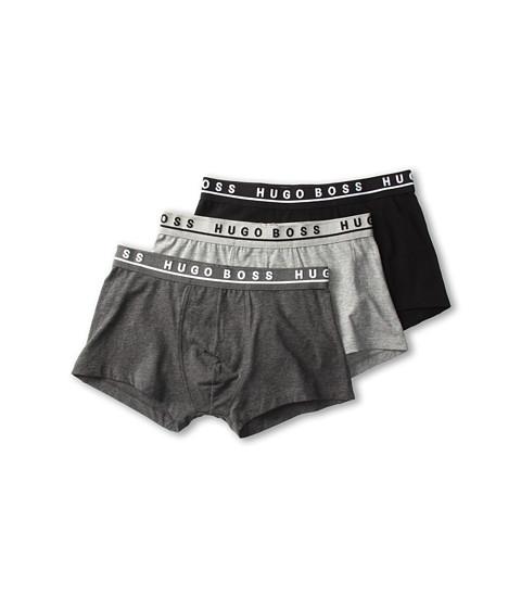 BOSS Hugo Boss Cotton Stretch Boxer 3 Pack 50236743 - Grey/Charcoal/Black