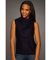 Kenneth Cole New York - Salt and Pepper Sequin Turtleneck