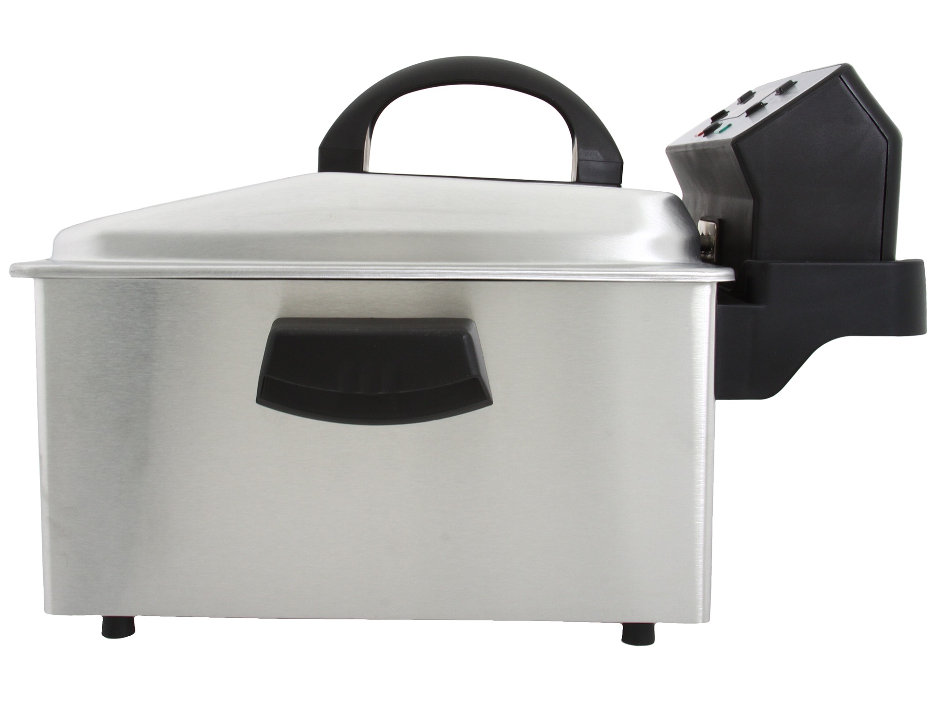 Waring Pro Df280 Deep Fryer Brushed Stainless Steel