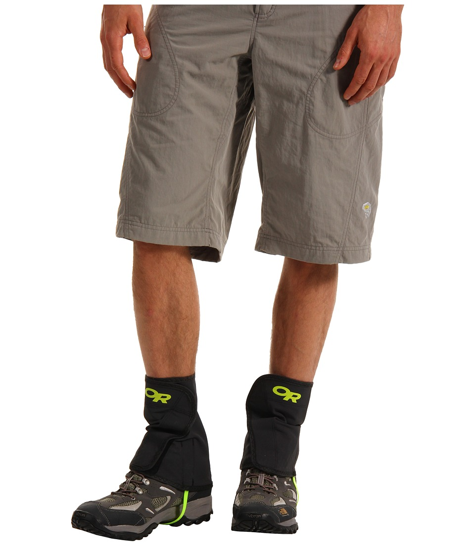 Outdoor Research Wrapid Gaiters (Black/Lemongrass) Men's ...