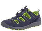 Clarks - Tikki (Navy with Lime Green) - Clarks Shoes