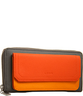 Lodis Accessories - Melrose Iris Zip Around