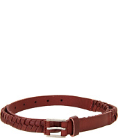 Cheap Nixon Bent Slim Belt Oxblood