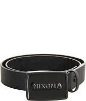 Cheap Nixon Enamel Wordmark Belt Black Pin Dot